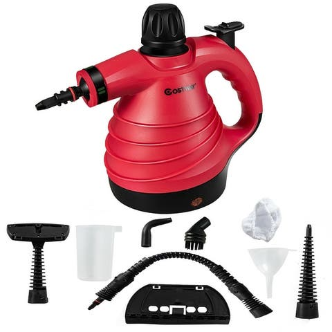 1050W Portable Multipurpose Pressurized Handheld Steam Cleaner