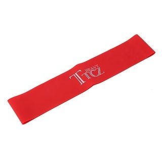 Sports Rubber Stretchy Resistance Band Pull up Training Assistance Loop Red