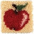 Spinrite Wonderart Latch Hook Kit, 8 by 8-Inch, Apple - Thumbnail 0