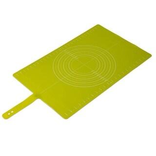 Joseph Joseph Silicone Non-Slip Pastry Mat with Measurements, Roll-Up, Gree