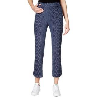 Rachel Rachel Roy Womens Cropped Pants Colored Classic Fit