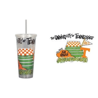 University of Tennessee 22oz Tumbler with Straw