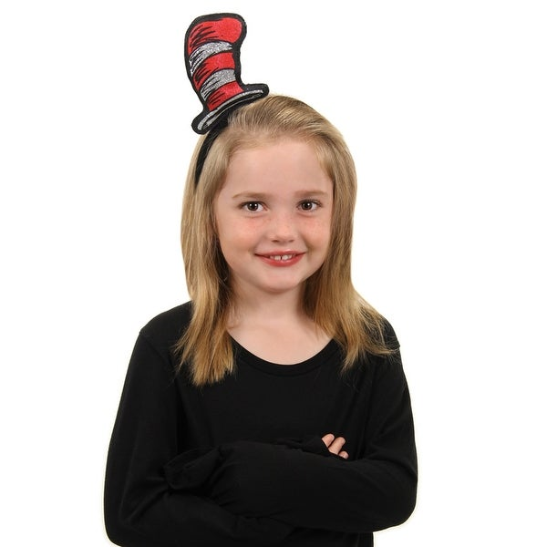 The Cat in the Hat Glitter Bopper Costume Headband - Red