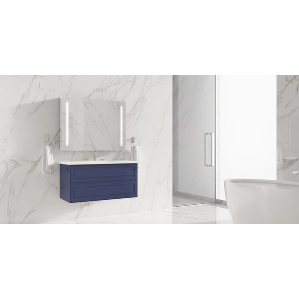 """Alma Collection 30"""" Vanity. Opens flyout."""