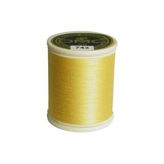 237a 50 743 Dmc Broder Machine 100 Ctn Thrd Med Yellow
