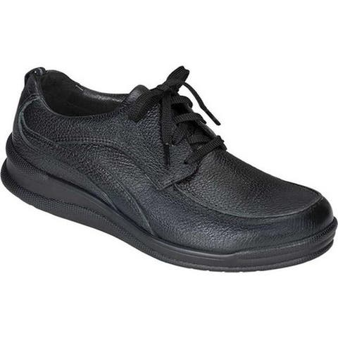 SAS Men's Move On Walking Shoe Black Leather