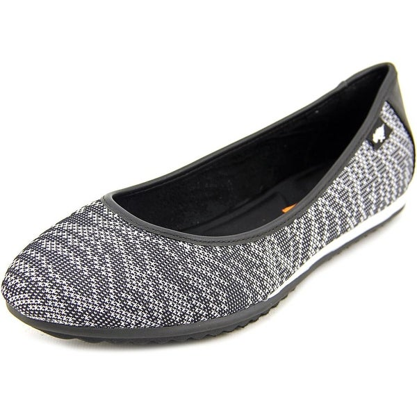 Rocket Dog Carla Tiff Women  Round Toe Canvas Black Flats