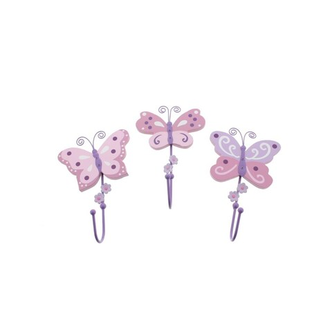 Koala Baby Butterfly Wall Decor 3PC Nursery - o/s