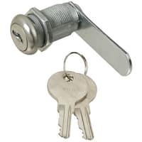 "National Hardware N192-484 Door/Drawer Utility Lock, Steel, Chrome Plated, 3/4"""