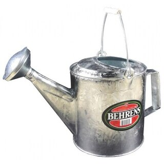 Behrens 206 Hot Dipped Steel Watering Can, 1-1/2 Gallon