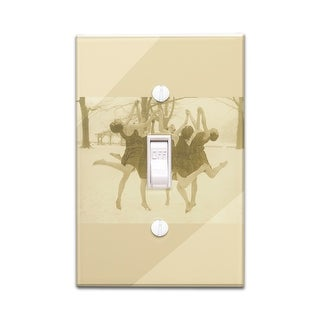 Dancing Horse Decorative Wall Plate Cover Free Shipping