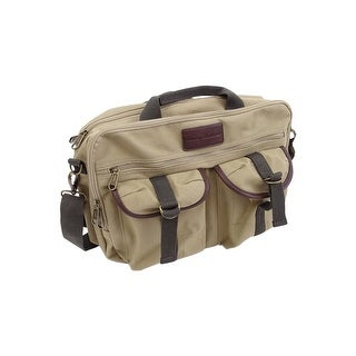Tommy Bahama Briefcase Messenger Travel Bag (OS, Tan) - Tan - OS