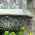 Sunnydaze Decorative Lion Solar Wall Fountain - Thumbnail 4