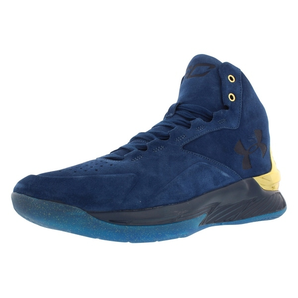 57e734d2a Shop Under Armour Curry 1 Lux Mid Sde Basketball Men's Shoes - On ...