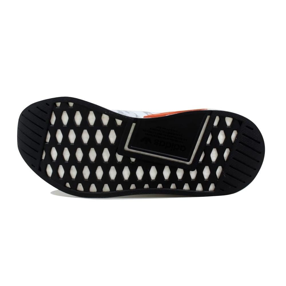 cheap for discount 4bbcf 4e632 Adidas Men's NMD R2 Primeknit Grey/Orange BY9410