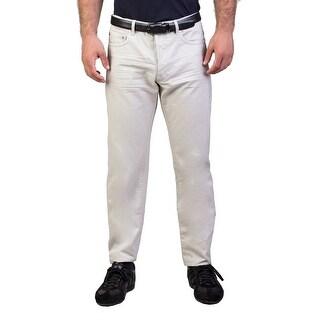 Dior Homme Men's Slim Fit Jeans Pants Beige - 34