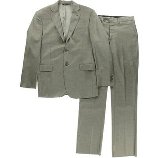 Yves Saint Laurent Mens Wool 2PC Two-Button Suit - 38R