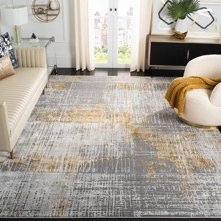 Link to Safavieh Craft Hertha Modern Abstract Rug Similar Items in Rugs