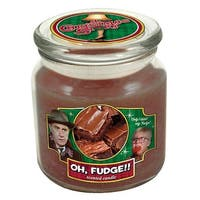 A Christmas Story Oh, Fudge!! Scented Christmas Jar Candle 14 oz