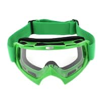 Unique Bargains Plastic Frame Wide Lens Adjustable Elastic Strap Eyewear Ski Goggles