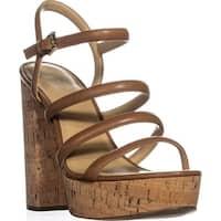 MICHAEL Michael Kors Nantucket Platform Sandals, Acorn