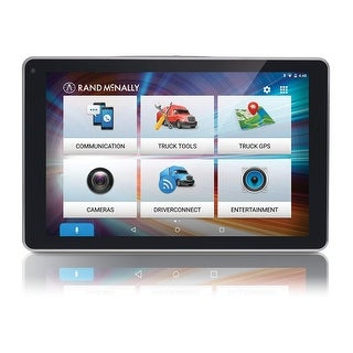 Rand McNally OverDryve 8 Pro with Inbuilt Dashcam, Bluetooth & SiriusXM Truck GPS Plus Tablet