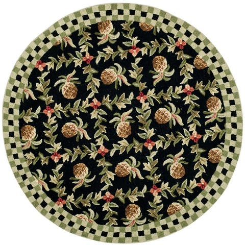SAFAVIEH Hand-hooked Chelsea Jerica Country Oriental Wool Rug