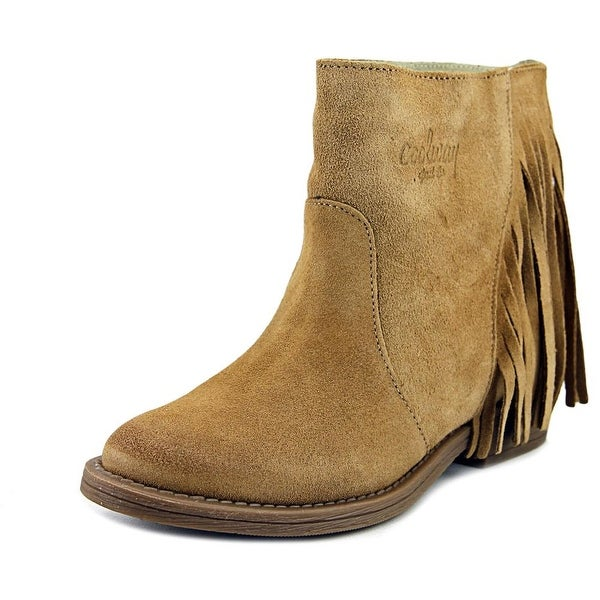 Coolway Naomi Women Round Toe Suede Ankle Boot