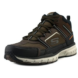 Skechers Geo-Trek - Scenic View Men  Round Toe Synthetic Brown Trail Running