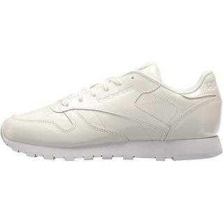 Reebok Women's Cl Lthr Patent Walking Shoe