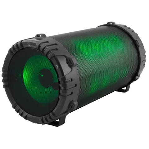 "QFX 4"" LED Light Bluetooth Speaker"