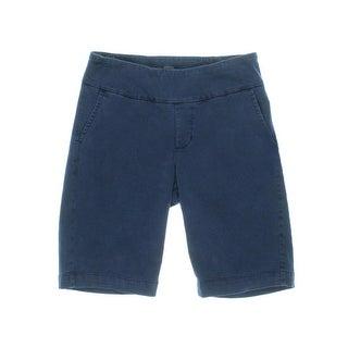 Jag Womens Louie Denim Classic Fit Bermuda Shorts - 2