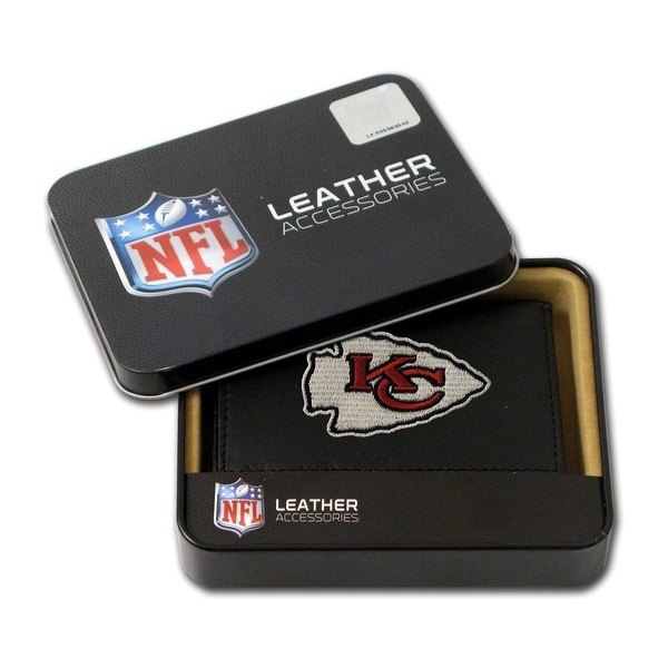 d1307154f7 Kansas City Chiefs Wallet Trifold Embroidered Leather