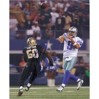 Signed Romo Tony Dallas Cowboys 8x10 Photo autographed