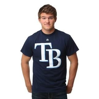 Tampa Bay Rays Official Logo Men's T-Shirt