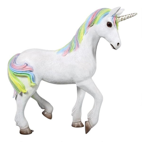 """36"""" Standing Magical Indoor/Outdoor Mystical Unicorn - N/A"""