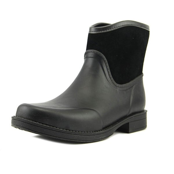UGG Collection W Paxton Women Round Toe Synthetic Black Rain Boot