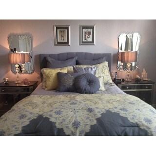 Style 212 Milania Grey 10-piece Comforter Set