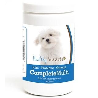 Healthy Breeds Maltese Complete Multivitamin