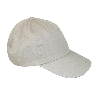 Dorfman Pacific Classic Cotton Basic Solid Sports Baseball Cap
