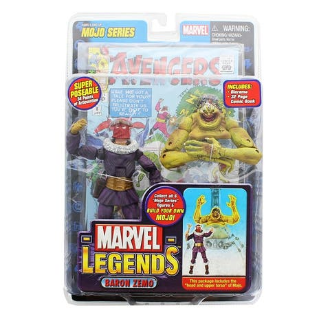"Marvel Legends Series 14 6"" Action Figure: Baron Zemo - multi"