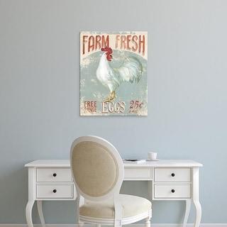 Easy Art Prints Danhui Nai's 'Farm Nostalgia III' Premium Canvas Art