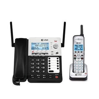 Refurbished AT&T SB67138-R 4 Line Corded/Cordless Phone