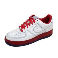 Nike Women's Air Force 1 Supreme I/O 07 White/White-Atom Red 316657-111