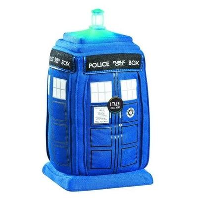 "Doctor Who Tardis Talking 15"" Plush With Light & Sound - Multi"