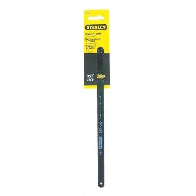 Stanley 15-908A Steel Hacksaw Blade, 10
