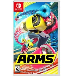 Nintendo Hacpaabqa Arms 4 Player Local Multiplayer Fighting Game For Switch