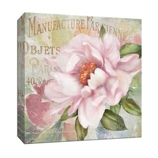 """PTM Images 9-146839  PTM Canvas Collection 12"""" x 12"""" - """"Parfum de Paris II"""" Giclee Flowers Art Print on Canvas"""