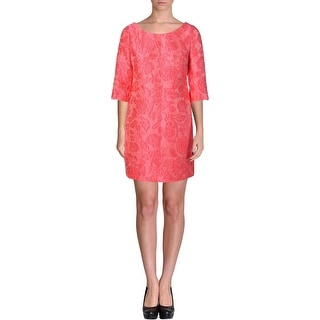 Tracy Reese Womens 3/4 Sleeves Mini Cocktail Dress