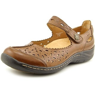 Earth Tanglewood Round Toe Leather Mary Janes